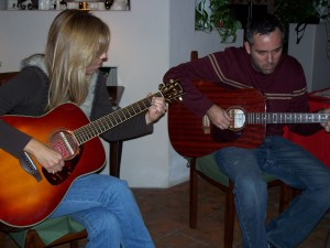 Learning to play the guitar at age 40